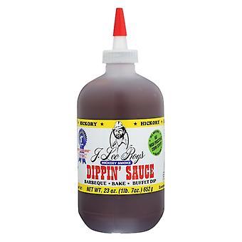 J Lee Roys Inc Sauce Dppn Hickory geräuchert, Fall von 12 X 23 Oz