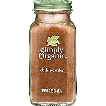 Simply Organic Chili Pwdr Org, Case of 6 X 2.89 Oz