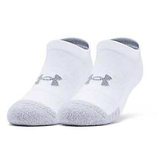 Under Armour Ungdom Heatgear No Show Socks 3-pack