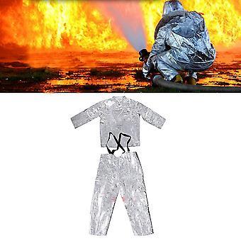 Alumiinifolio Palosuojatut vaatteet Lämmöneristysvaatteet Full Set