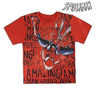 Child's Short Sleeve T-Shirt Spiderman 72611