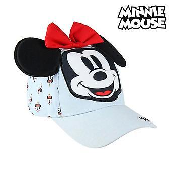 Child Cap 3d Minnie Mouse 75313 Light blue (53 Cm)