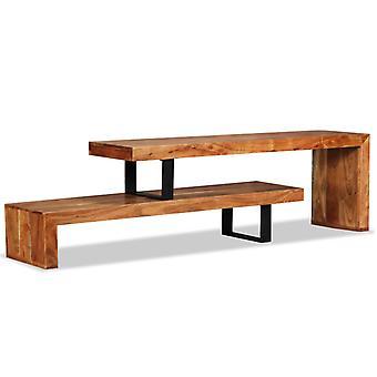 vidaXL TV-skåp Acacia Wood Solid