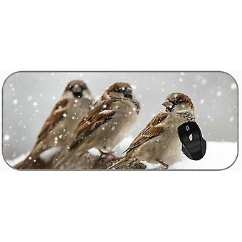 (750X300X3) Gaming Mouse Pad Large XXL Animal Sparrow XXL Large Mouse Mat