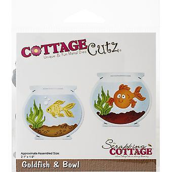 CottageCutz Dies - Guldfisk & Skål
