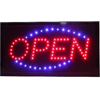 Super Brightly Led Open Store Business Shop Neon Firma Animated Motion Running