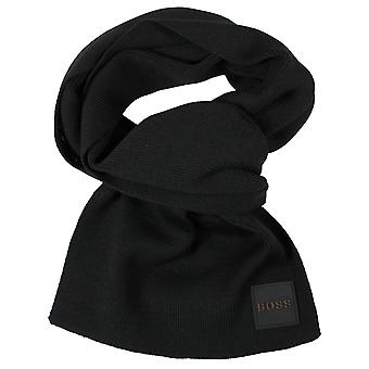 Hugo boss foxon black scarf