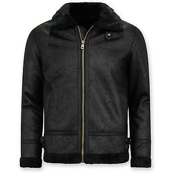 Veste de cisaillement - Manteau lammy - Noir