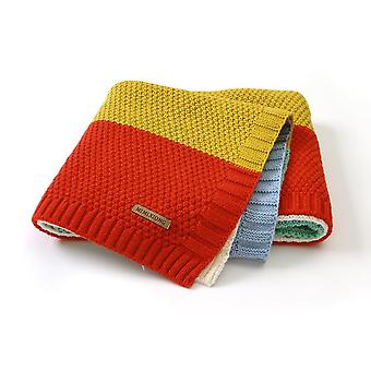 Baby Blankets Soft Infant Swaddle Wrap Quilts Knitted Newborn Bebes Stroller Bedding Sleep