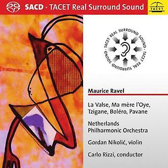 M. Ravel - Ravel: La Valse; Ma M Re L'Oye; Tzigane; Bol Ro; Pavane [SACD] USA import