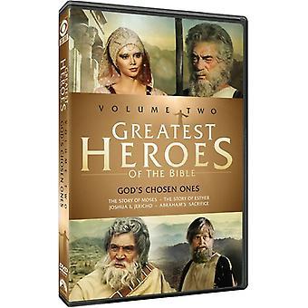 Größten Helden der Bibel: Volumen 2 [DVD] USA Import