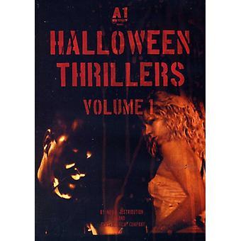 Thriller di Halloween - Halloween thriller, importazione USA Vol. 1 [DVD]