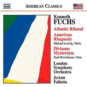 K. Fuchs - Kenneth Fuchs: Atlantic Riband; American Rhapsody; Divinum Mysterium [CD] USA import