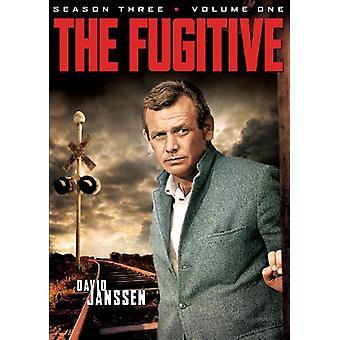 Fugitive - Fugitive: Season Three Volume One [DVD] USA import