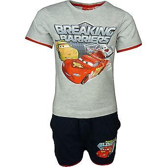Jungen Disney Cars McQueen 2 Stück Set T-shirt & Shorts OE1224