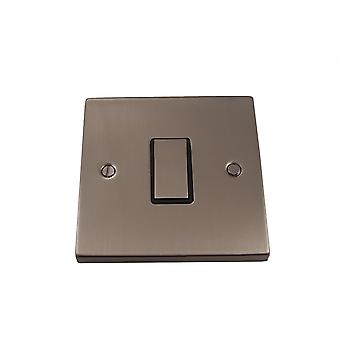 Causeway 1 Gang Intermediate Ingot Light Switch, Satin Chrome