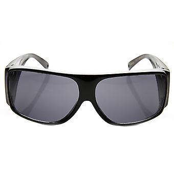 Grand couvercle polarisé ventilée pleine Protection bras Fit plus de lunettes de soleil