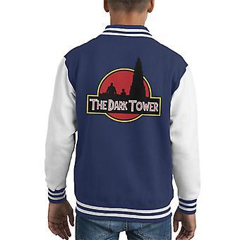 The Dark Tower Jurassic Park Kid Varsity Jacket