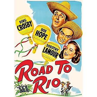 Road to Rio (1947) [DVD] USA import