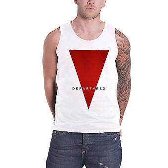 Departures Vest Top Axwell and Sebastion Ingrosso Triangle Logo Official Mens