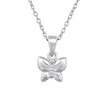 Butterfly - 925 Sterling Silver Necklaces - W28733X