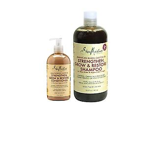 Shea Moisture - Jamaican Black Castor Oil Shampoo & Conditioner Set