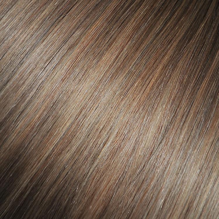 #8/18 Light Brunette Golden Blonde Highlights - Clip-in Hair Streaks