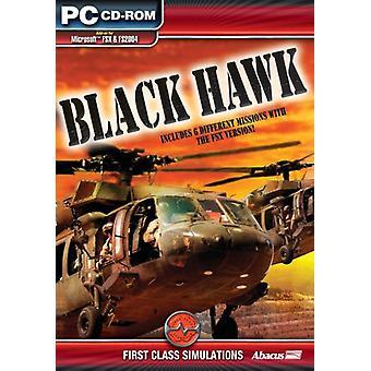 Black Hawk -lisäosa FS 2004FSX:lle (PC CD) - Uusi