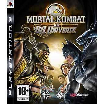 Mortal Kombat vs DC Universe (PS3)-ny