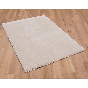 Tapis crème Rectangle tapis Plain/presque plaine confortable 71381 50