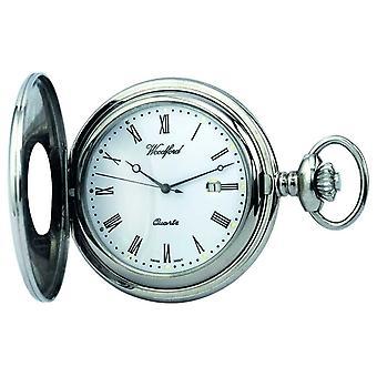 Zegarek kieszonkowy Hunter 1212 pół Woodford