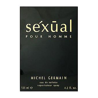 Michel Germain seksuele Pour Homme Eau De Toilette Spray 4.2 Oz/125 ml nieuw In doos