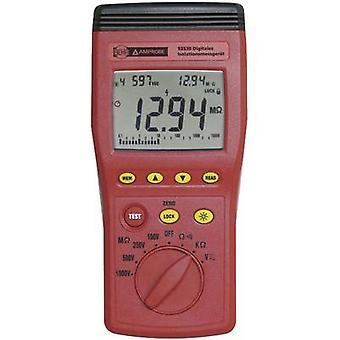BEHA Amprobe 93530-D eristys testeri 100 V, 250 V, 500 V, 1000 V 1 MΩ
