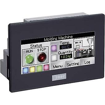 Idec FT1A-C12RA-B SmartAXIS Touch PLC touch panel with built-in control 24 V DC