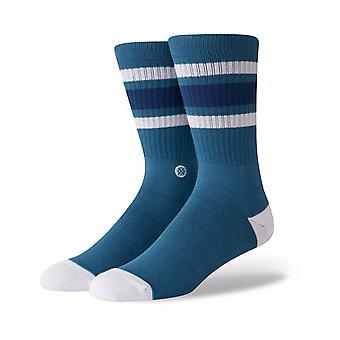 Stance Boyd 4 Crew Socks in Indigo