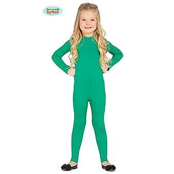 Guirca אלסטי בצבע ירוק מלא חליפה לילדים