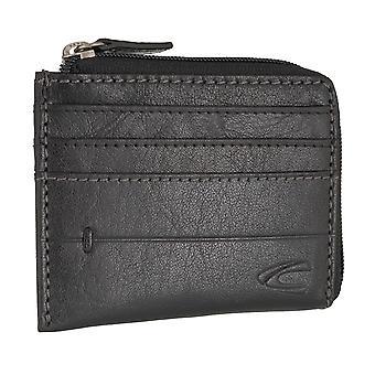 camel, mens credit card holder card holder leather case Black 6715 active Jakarta
