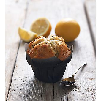 CSM Frozen Lemon and Poppy Seed Muffins