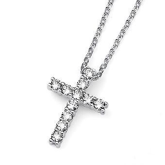 Oliver Weber Pendant Heaven 925Ag Rhodium Crystal