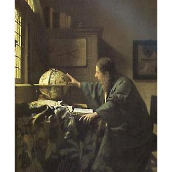 The astronomers, Jan Vermeer, 51x45cm