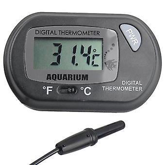 DIGIFLEX Digital LCD Fisch Aquarium Marine Vivarium Thermometer
