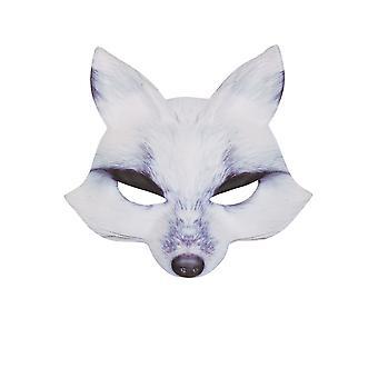 Maschera lupo bianca EVA