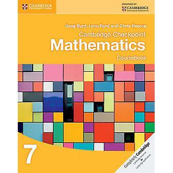 Cambridge Checkpoint Mathematik Lehrbuch 7 von Greg Byrd - Lynn Byr