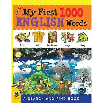 My First 1000 English Words - A Search and Find Book by Catherine Bruz