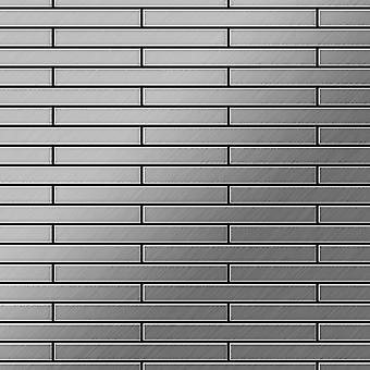 Nerezová mozaika z nerezové oceli DeeDee-S-S-B
