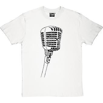 Camiseta micrófono hombres