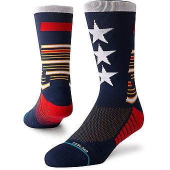 Holdning hyldest besætning sokker i Navy