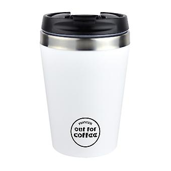 Pioneer White 0.3L Out For Coffee Reusable Mug