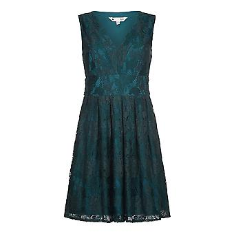 Yumi Womens/Ladies V Neck Floral Lace Dress