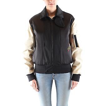 Saint Laurent Ezbc022027 Women's Multicolor Cotton Outerwear Jacket